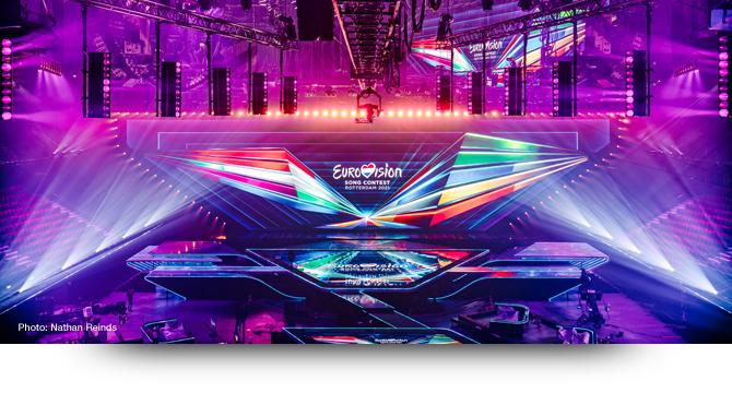 Claypaky dominates at Eurovision Song Contest 2021
